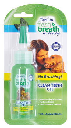 Tropiclean Fresh breath hengityksenraikastin geeli, 59 ml -  - 645095001077 - 1